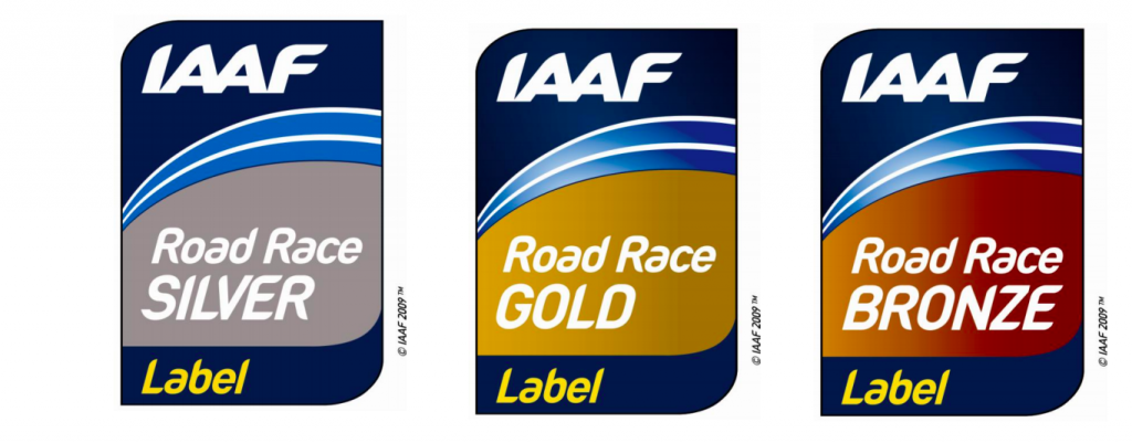 IAAF Road Race Labels